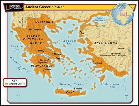 lesson 1 how did the geography of greece affect early