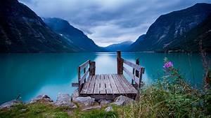 Wallpaper, Norway, 5k, 4k, Wallpaper, Bridge, Sea, Lake