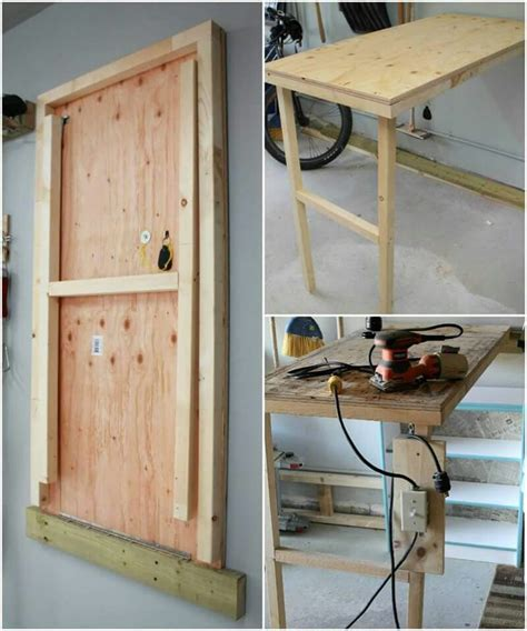murphy kitchen table plans murphy table small office in 2019 murphy table diy