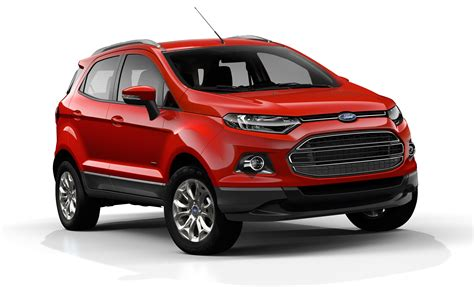 Ford Ecosport Official Pictures Of New Baby Suv  Photos (1 Of 11