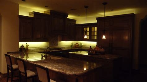 Above Cabinet Lighting Ideas Bar Cabinet Kitchen Storage