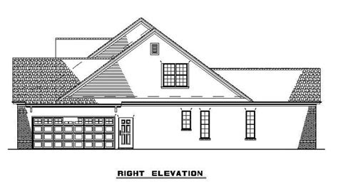 House Plan 61373 Country Style with 2261 Sq Ft 4 Bed 2