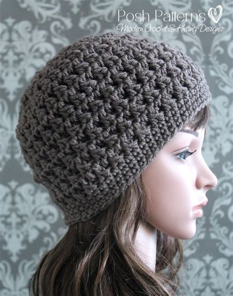headband prop crochet hat pattern cable cluster beanie
