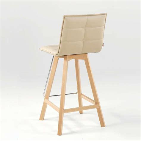 tabouret de bar schmidt tabouret de bar ou snack design en bois et synth 233 tique iris 4 pieds tables chaises et