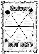 Quiver Dot Coloring Kindergarten Sheet Wheel Dryden Quivervision Birijus Colorwheel International Colorwheels Drydenart Weebly Modified sketch template