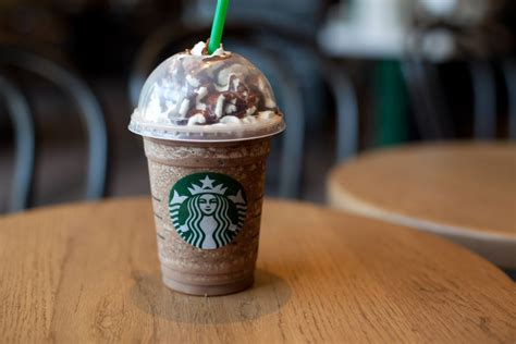 Listing of Calories in Starbucks Drinks