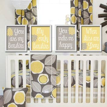 You Are My Baby Bedding by Yellow Gray You Are My Set Of From