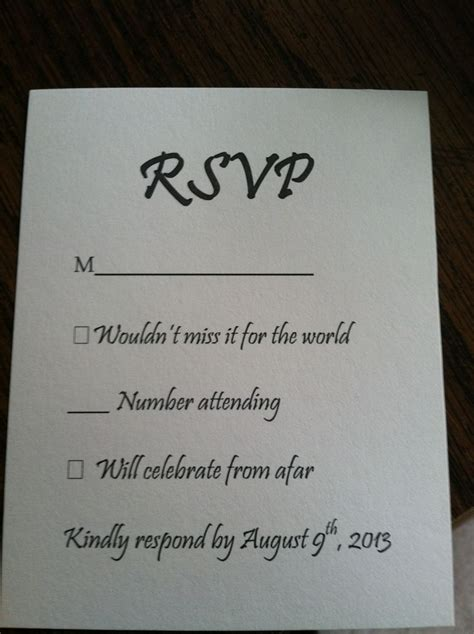 rsvp cards for weddings wording 1000 images about rsvp cards on pinterest response