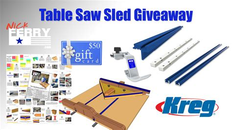 table  sled giveaway