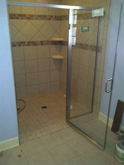 threshold shower enclosures handicap  door