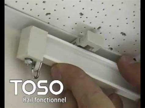 rail rideau courbe refre odec toso youtube