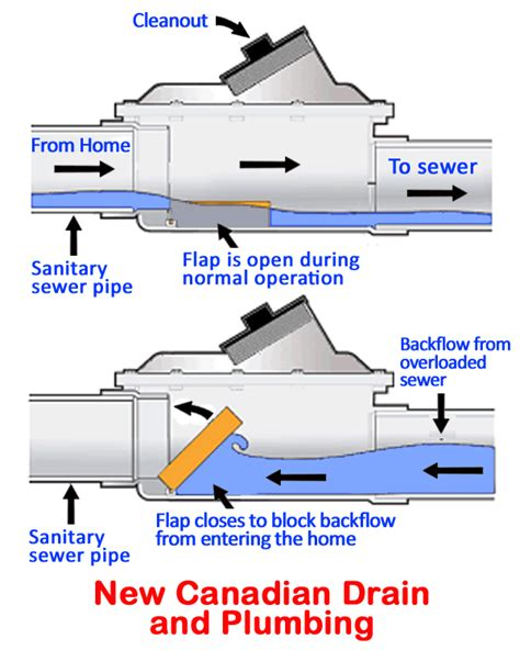 Floor Drain Backflow Preventer Home Depot by Using A Backwater Valve Can Protect Your Toronto Home