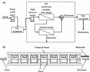 Bwro Desalination Process   A  Process Flow Diagram For A