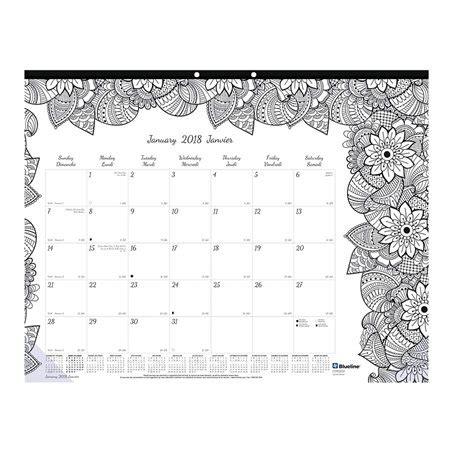 calendrier sous main mensuel doodleplan