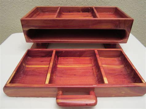 mens valet desktop box red cedar  platforms bandsaw box  blackie  lumberjockscom