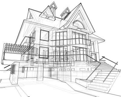 house drawing pictures