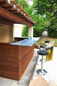 Cuisine D Ete : cuisine d 39 t slowgarden design terrasses et jardins ~ Melissatoandfro.com Idées de Décoration