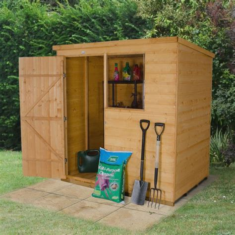 shiplap shed 6x4 6x4 pent shiplap wooden shed furniture plans wood
