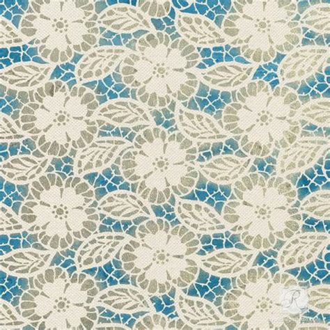 flower lace pattern  holiday stencils diy christmas