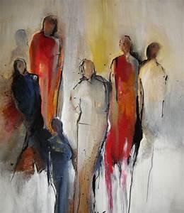 Leinwand Auf Englisch : familie ii acryl auf leinwand abstrakt familie menschen von annemohn bei kunstnet ~ Eleganceandgraceweddings.com Haus und Dekorationen