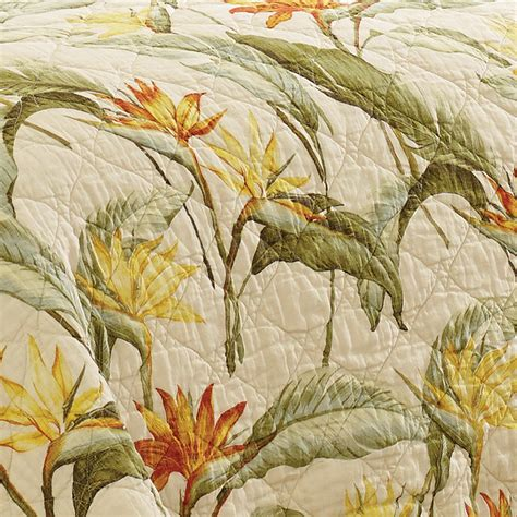 bahama birds of paradise quilt set from beddingstyle