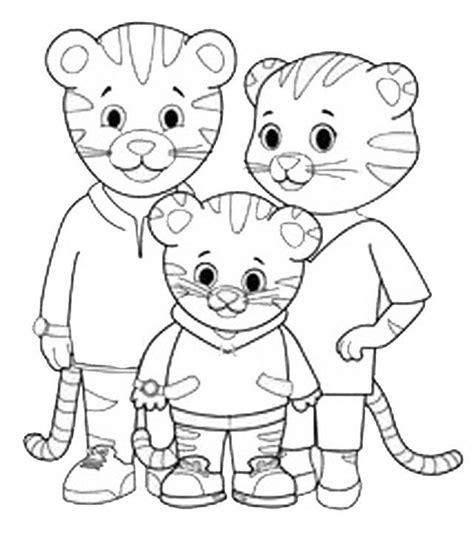 disegni  daniel tiger da stampare gratis fotogallery