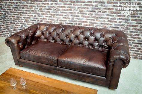 canap chesterfield but canapé chesterfield canapé chesterfild en cuir 3