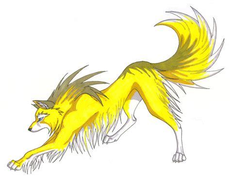 Lightning Wolf By Captainmorwen On Deviantart