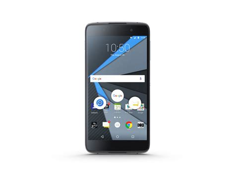 blackberry dtek50 smartphone review notebookcheck net reviews