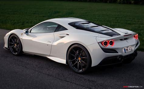 E' il lavoro di mike crawley che presenta la ferrari roma con delle modifiche che la rendono diversa. Ferrari F8 Tributo Gets the Novitec Treatment - AutoConception.com - AutoConception.com