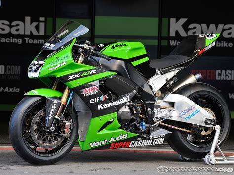 Paul Bird Kawasaki Zx10r World Superbike Photos