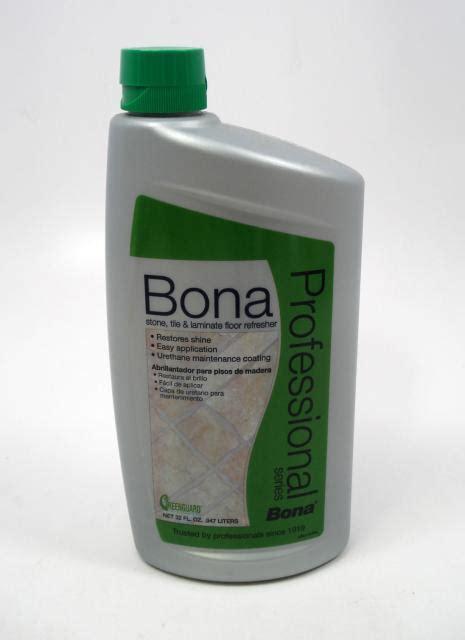 Bona Refresher For Laminate Floors by Bona Pro Series Tile And Laminate Refresher Quart