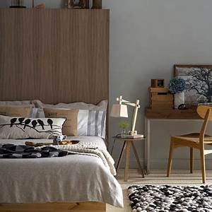 chambre taupe et couleur lin idees deco ambiance zen With chambre gris et taupe