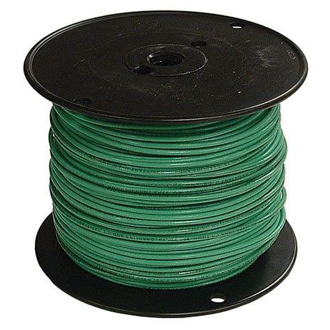 southwire 500 ft 2 green stranded cu simpull thhn wire 29583201 the home depot