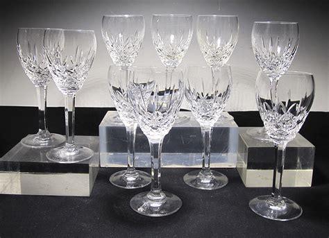 10 Vintage Waterford Crystal Marquis Laurent Pattern
