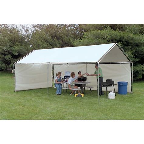 Canopy Tent Cover by Weathershield Portable Canopy White Replacement Cover 10