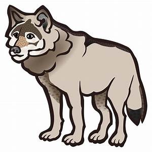 Howling Wolf Clip Art