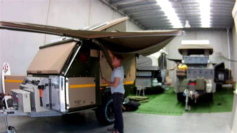 Conqueror Uev 440 Batwing Awning Walk Around And Set Up
