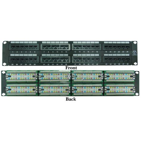 Port Cat Patch Panel Type Compatible