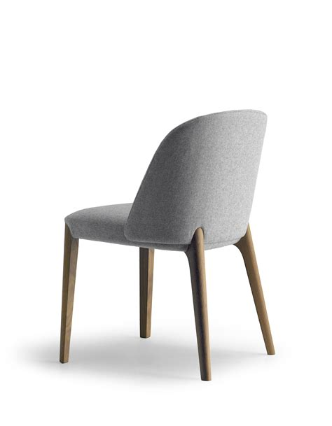 chaise rembourrée bellevue 01 by wood design this weber