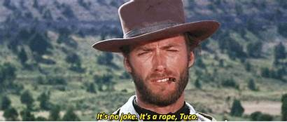 Gifs Western Eastwood Clint Spaghetti Koe Cowboy