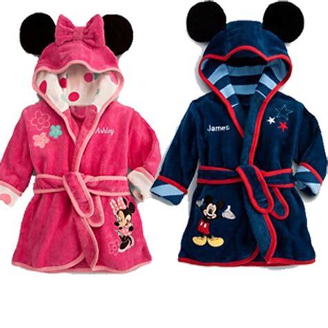 robe de chambre mickey peignoir enfant lepeignoir fr