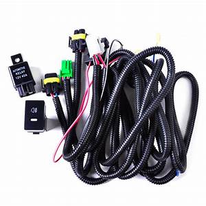 Wiring Harness Sockets   Switch For H11 Fog Light Lamp