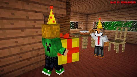 speedart minecraft background birthday party