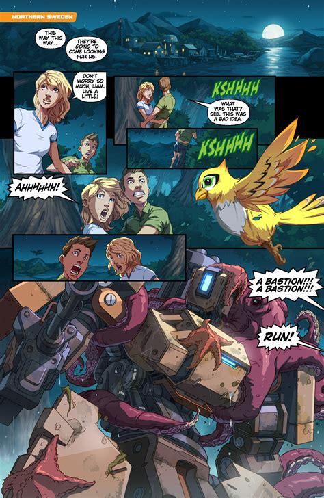 "Overwatch Digital Comic ""binary""  News Overwatch"