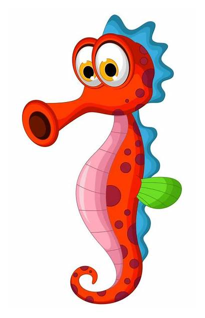 Clipart Sea Creatures Cartoon Clker Clip Domain
