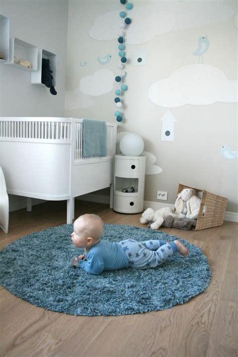 Wandgestaltung Kinderzimmer Bett by Niedliche Babyzimmer Wandgestaltung Inspirierende