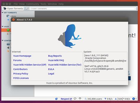 The Powerful Bittorrent Client Vuze  Latest Release Comes