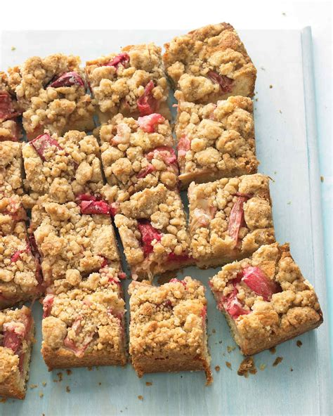 Best Rhubarb Recipes by Strawberry Rhubarb Crisp Recipe Martha Stewart