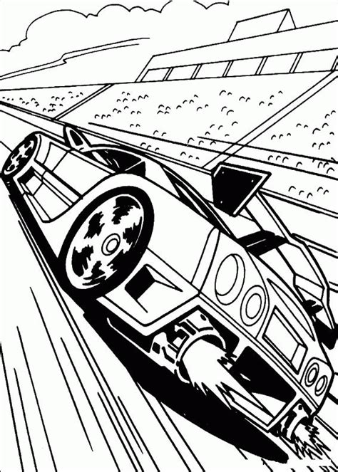Coloring Page - Hot wheels coloring pages 17